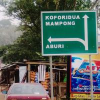 Schnitzer aus Aburi