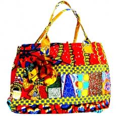 Afrika Tasche, bunte Sommertasche aus Ghana