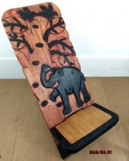 Westafrikanischer Steckstuhl aus Odum - Holz (african teak)