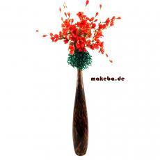 Bambushocker, Bambusbeistelltischchen, Beistelltischchen aus Bambus, 4-eckig