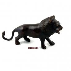 Bronzeguss-Figur, Löwe