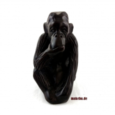 Affe denkend aus Ebenholz, Afrika ,Ghana