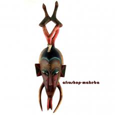 Guro-Maske. Traditionelle Afrikanische Maske von der Elfenbeinküste
