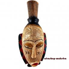 Maske der Punu Okuyi-Maske aus Gabun Traditionelle rituelle afrikanische Maske