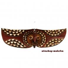Dekorative Bwa Butterfly Brettmaske aus Burkina Faso, Schmetterlingsmaske