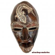 Maske der Dan aus Liberia/Elfenbeinküste