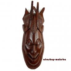 Attraktive afrikanische Maske der Mandinka aus Gambia