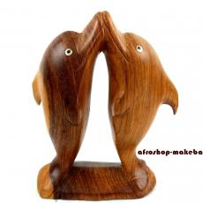 Delphin-Paar küssend aus Gambia