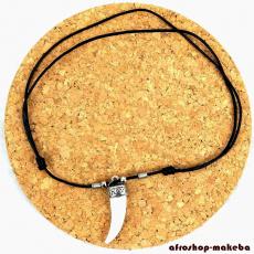 Halskette mit Hauer-Anhänger vom Bush Pig