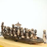 Afrikanisches Königs-Ruderboot