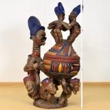 Schalenträgerin der Yoruba, Olumeye Altar Bowl,