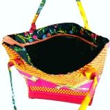 Sommertasche aus Ghana. Bunte Afrika-Tasche.