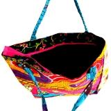 Afrikanische Tasche. Bunte Sommertasche aus Ghana