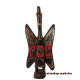 Calao-heiliger Vogel der Senufo