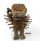 Ritualfigur, Nagelfetisch, nkisi, nkonde, Fetisch, Zauberfigur,