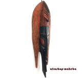 Ashanti Fischmaske aus Ghana. Moderne Afrika Maske.