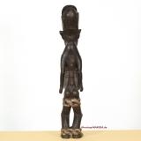 Koro - Figur, Doppel-Gefäß in Menschen-Form, für zeremonielles Trinken von Palmwein und rituelle Trank-Opfer, Ahnengeist