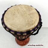Djembe, einfellige Bechertrommel aus Westafrika, medium