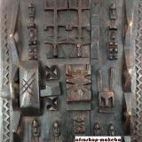 Kornspeichertür der Dogon, Dogon Tür,  Dogon Door,