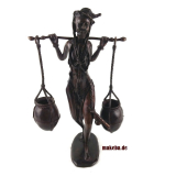 Bronzeguss-Figur, Afrikanischer Wasserträger
