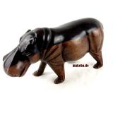 Hippo aus Afrika, Flusspferd, Ebenholz