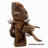 Nagelfetisch der Bakongo, nkisi, nkonde, Fetisch, Zauberfigur,Ritualfigur