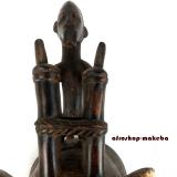 Widderkopf Maske der Baule, Traditionelle Baule Maske