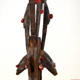 Janus Köpfe (Merekun) Puppets des Sogo Bo Theaters aus Mali