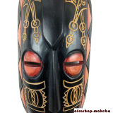 Maske der Ashanti aus Ghana. Moderne Afrika Maske. Wandmaske. Holzmaske Deko-Maske