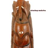 Afrikanische Maske der Mandinka aus Teakholz