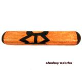 Oware, Bohnenspiel, Adinkra Symbol-Design Donno Ntoaso, Traditionelles Strategie-Spiel aus Afrika