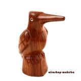 Eisvogel, Teakholz aus Gambia