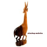 Antilope aus Ebenholz. Ghana/Afrika