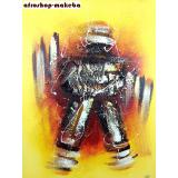 Modernes Afrikanisches Gemälde. Burkina Faso