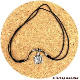 Halskette mit Schildkröte-Anhänger