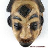 Afrikanische Gesichtsmaske der Punu. Okuyi  Maske Gabun