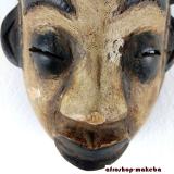 Maske der Punu. Okuyi-Maske Traditionelle afrikanische Maske aus Gabun
