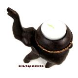 Afrika-Elefant mit Teelichthalter
