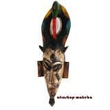 Traditionelle Afrikanische Maske der Guro. Elfenbeinküste