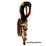 Maske der Guro. Traditionelle Afrikanische Maske von der Elfenbeinküste
